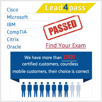 lead4pass exam dumps