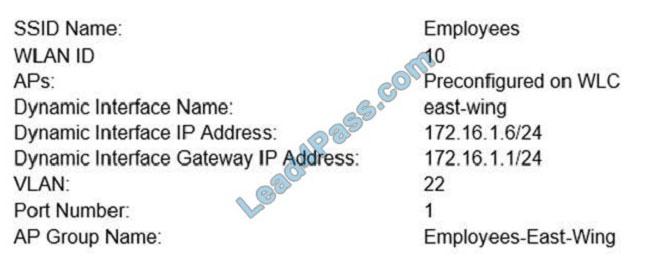 lead4pass cisco 350-401 Practice exams q9