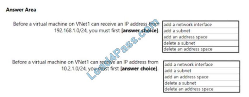 lead4pass az-104 exam questions q6-1