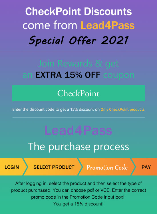 checkpoint coupon code