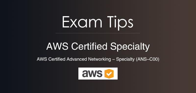 aws certification exam tips
